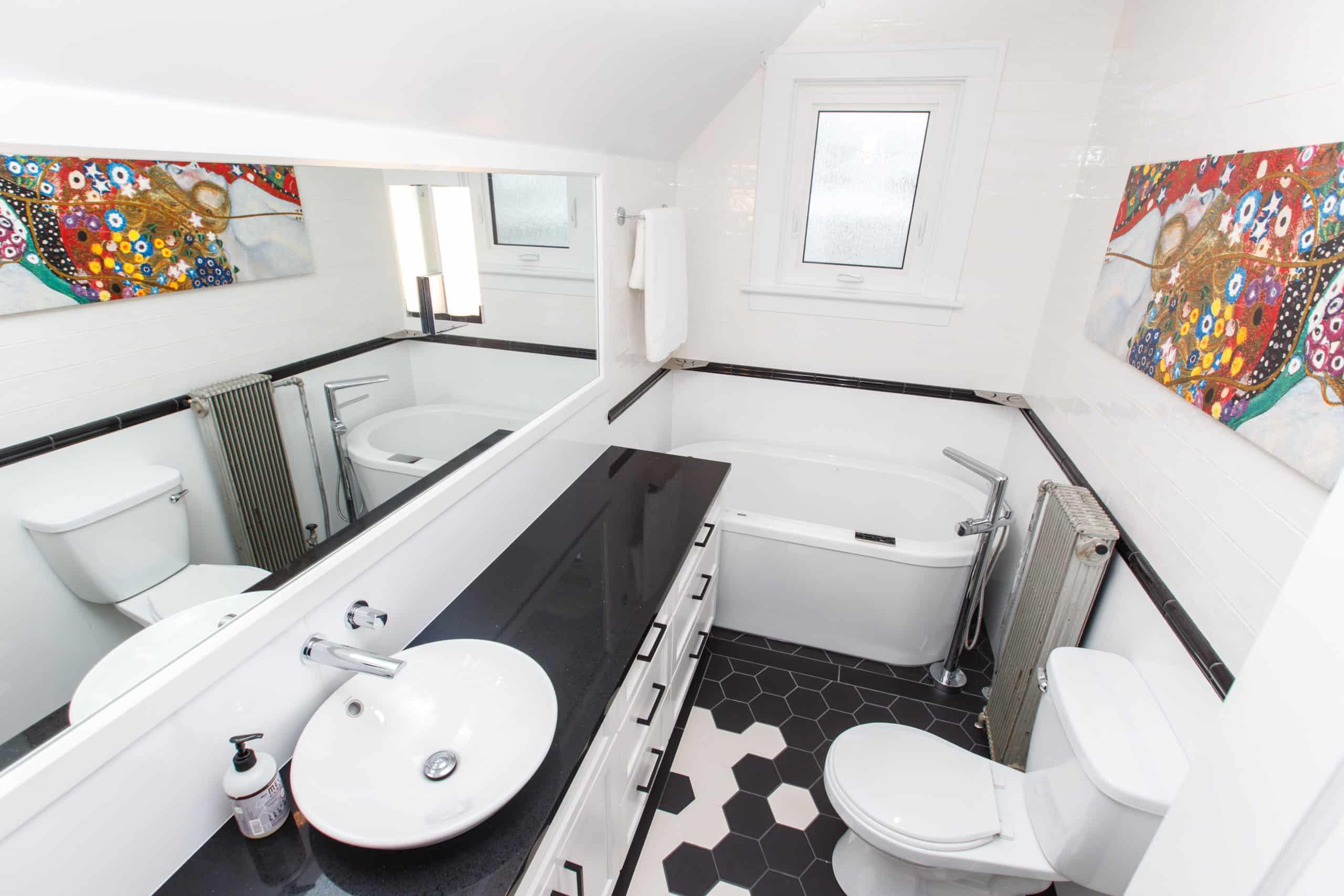 Crescentwood bathroom Renovation