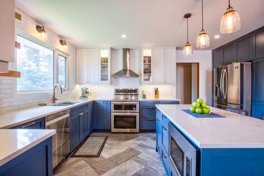 Hammerdown renovated kitchen